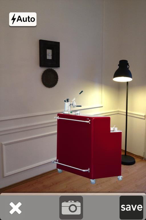 Fotografie cu barul Muller facuta la Studio Contemporist cu aplicatia Hansen Design